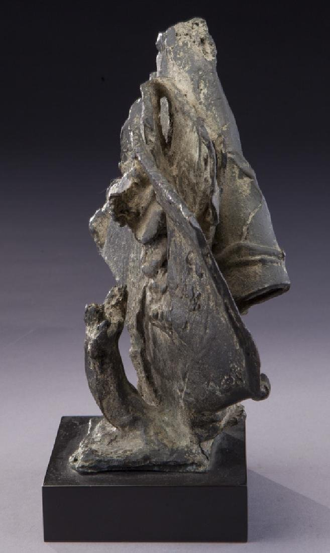 """Charles Umlauf """"Moses and the Universe (Study)"""" - 4"""