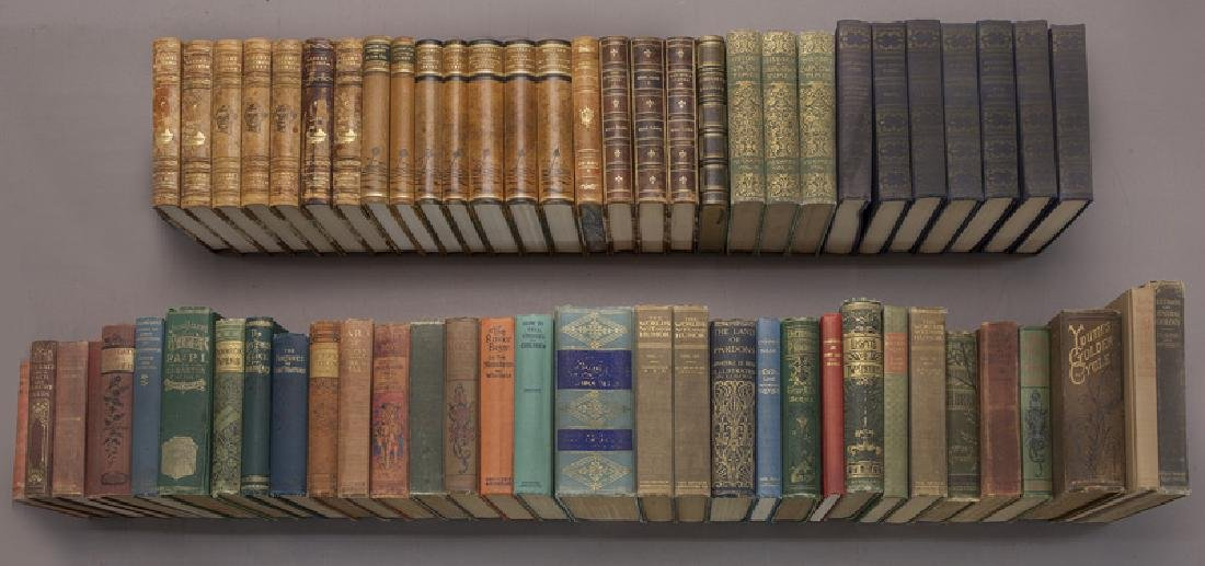 (62) Leather and cloth bound volumes