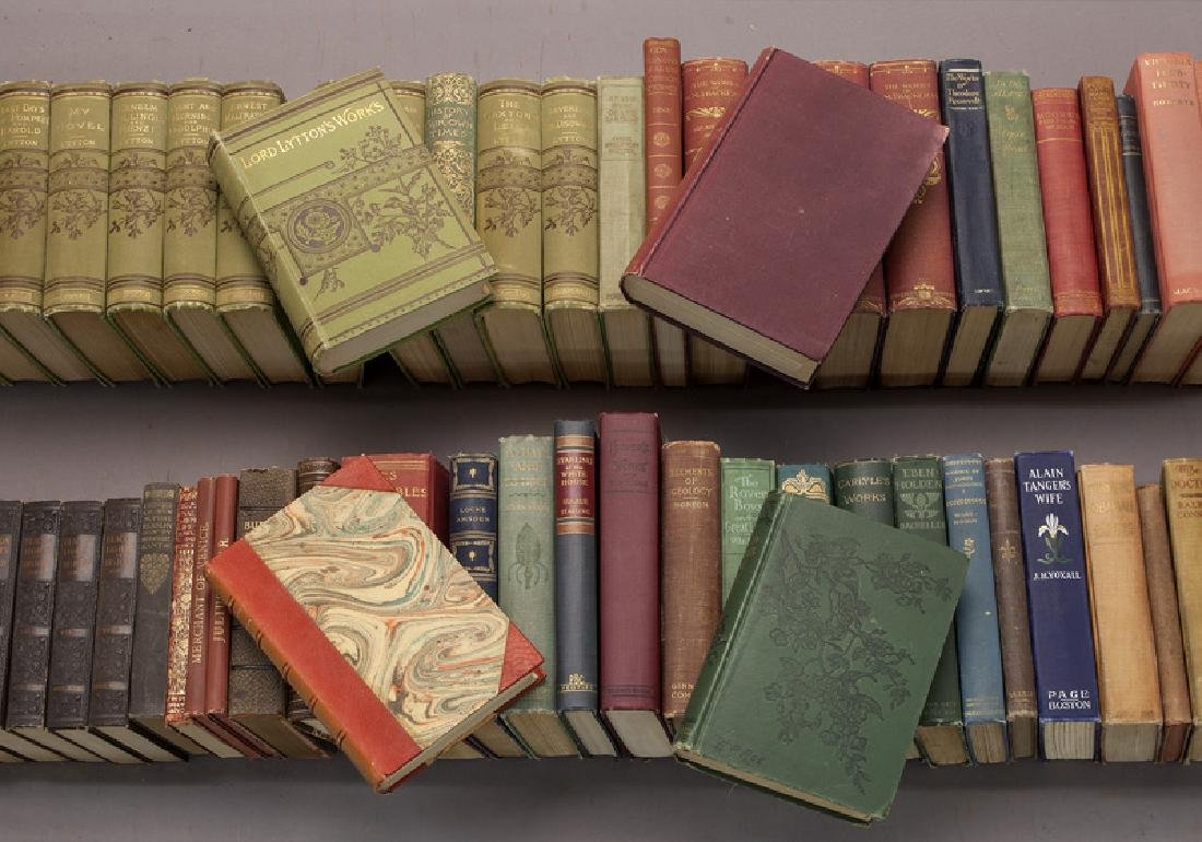 (64) Leather and cloth bound volumes - 2