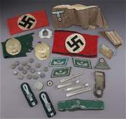 Group of WWII German insignia,