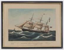 "N. Currier ""Clipper Ship Dreadnought"" large folio"