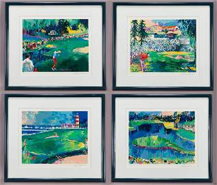 "(4) LeRoy Neiman from ""The Big Time Golf Suite"""