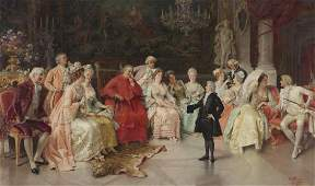 "Natale Attanasio ""The Recital"" oil on"