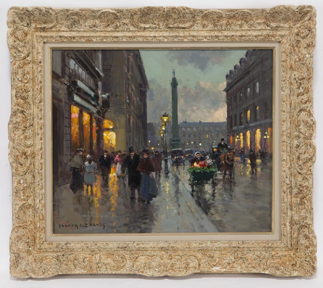"""Edouard Cortes """"Rue de la Paix et Place Vendome"""" - 2"""