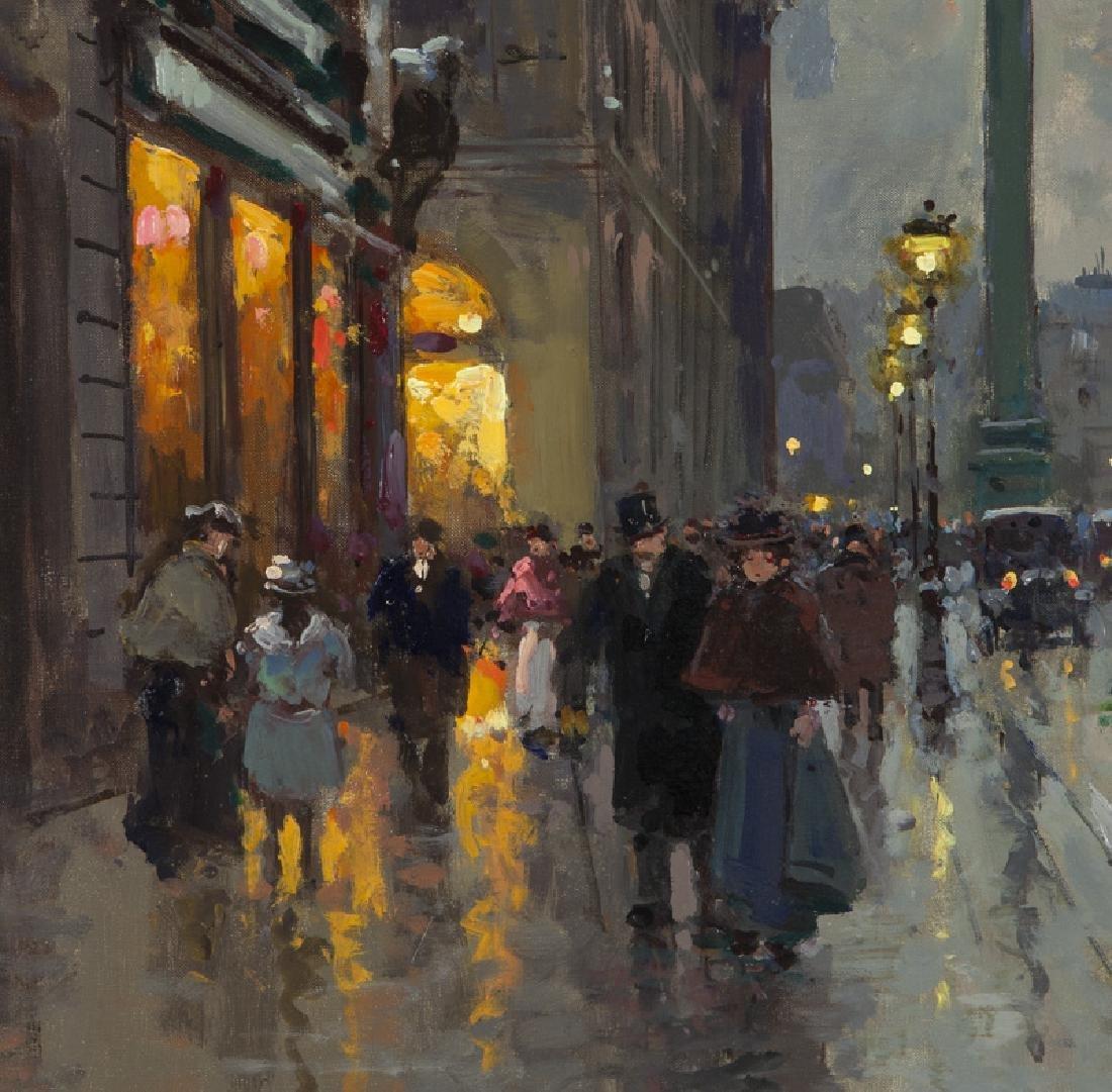 """Edouard Cortes """"Rue de la Paix et Place Vendome"""" - 3"""