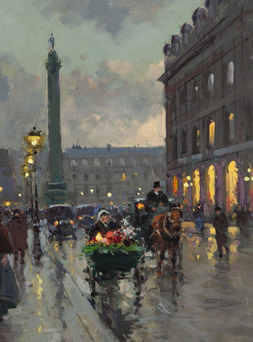 """Edouard Cortes """"Rue de la Paix et Place Vendome"""" - 4"""
