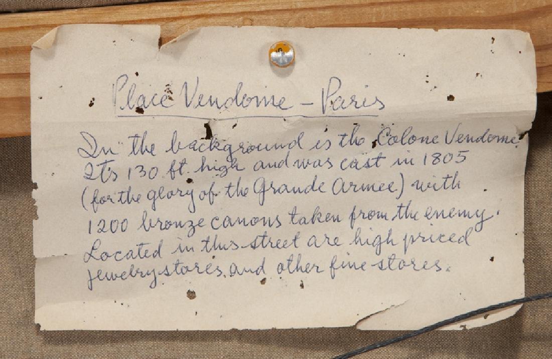 """Edouard Cortes """"Rue de la Paix et Place Vendome"""" - 7"""
