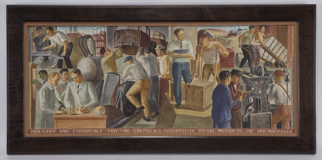 """John R. Ballator """"Industry & Commerce"""" - 2"""