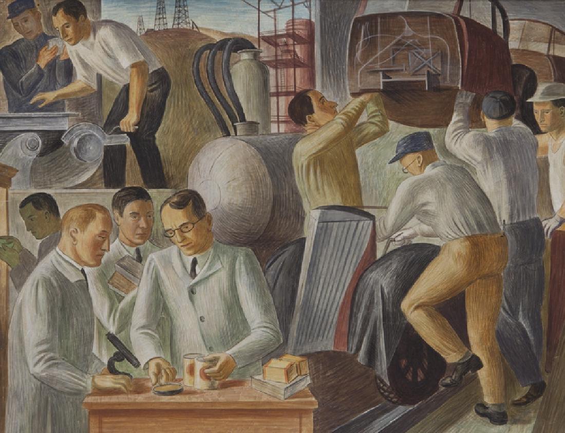 """John R. Ballator """"Industry & Commerce"""" - 3"""