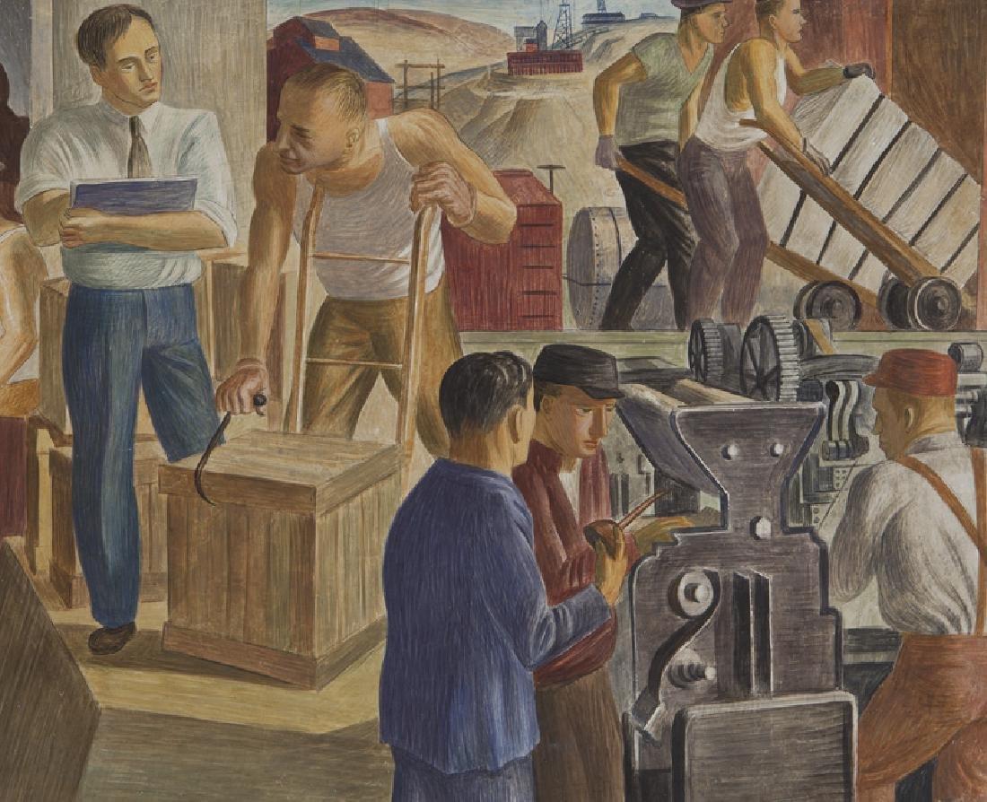 """John R. Ballator """"Industry & Commerce"""" - 5"""