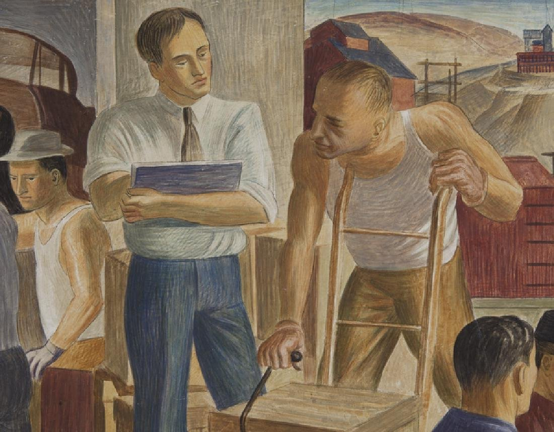 """John R. Ballator """"Industry & Commerce"""" - 6"""