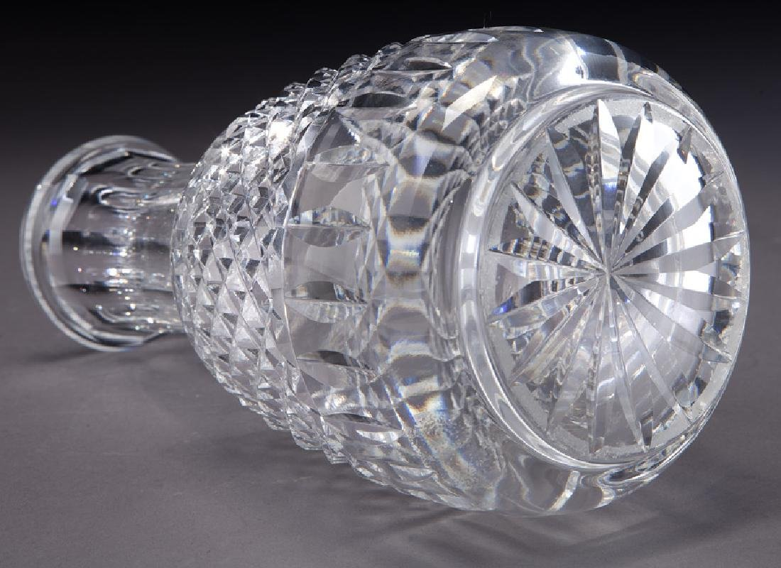 Waterford decanter and glass. - 4