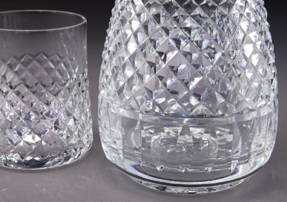 Waterford decanter and glass. - 5