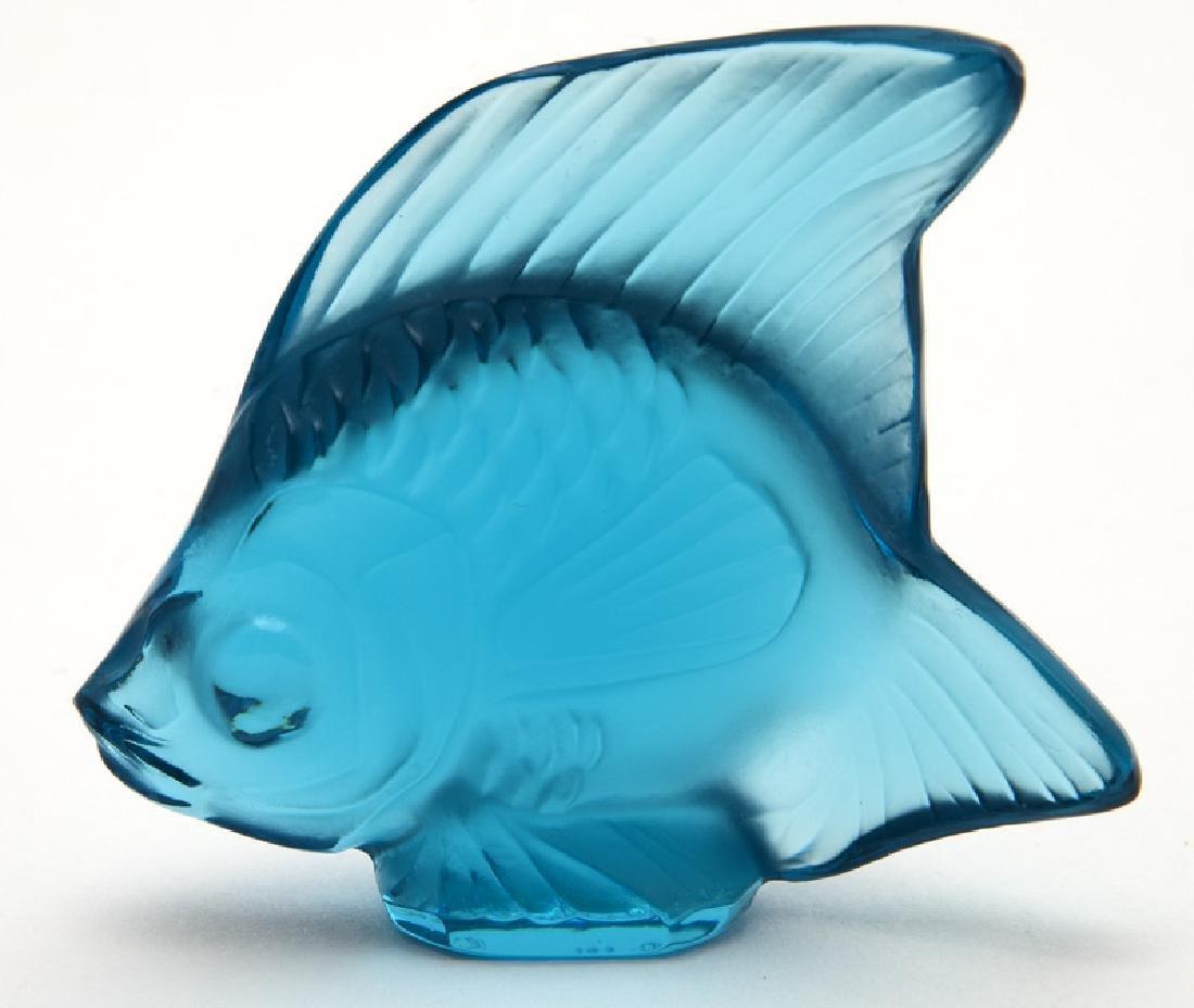 (24) Lalique Poisson fish figures - 4