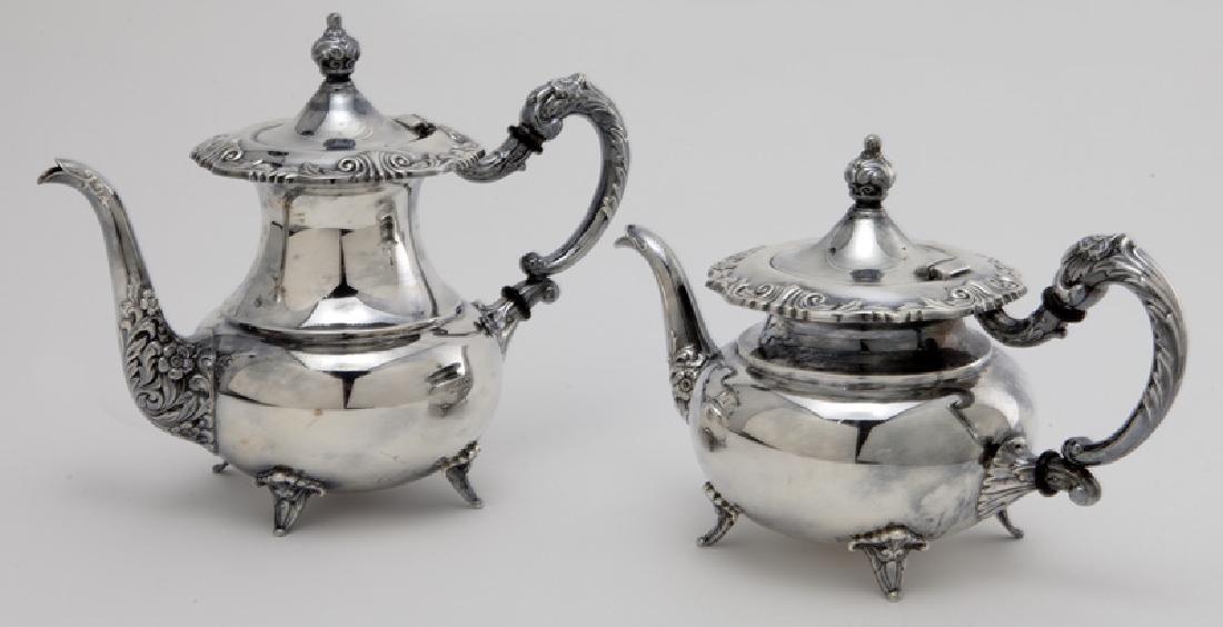 (4) Pc. Sterling coffee & tea service - 3