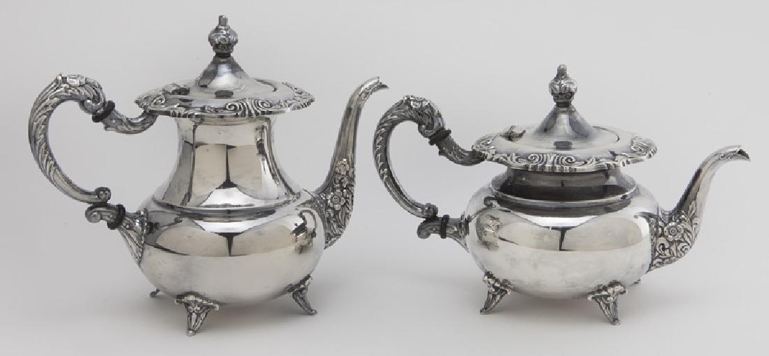 (4) Pc. Sterling coffee & tea service - 4
