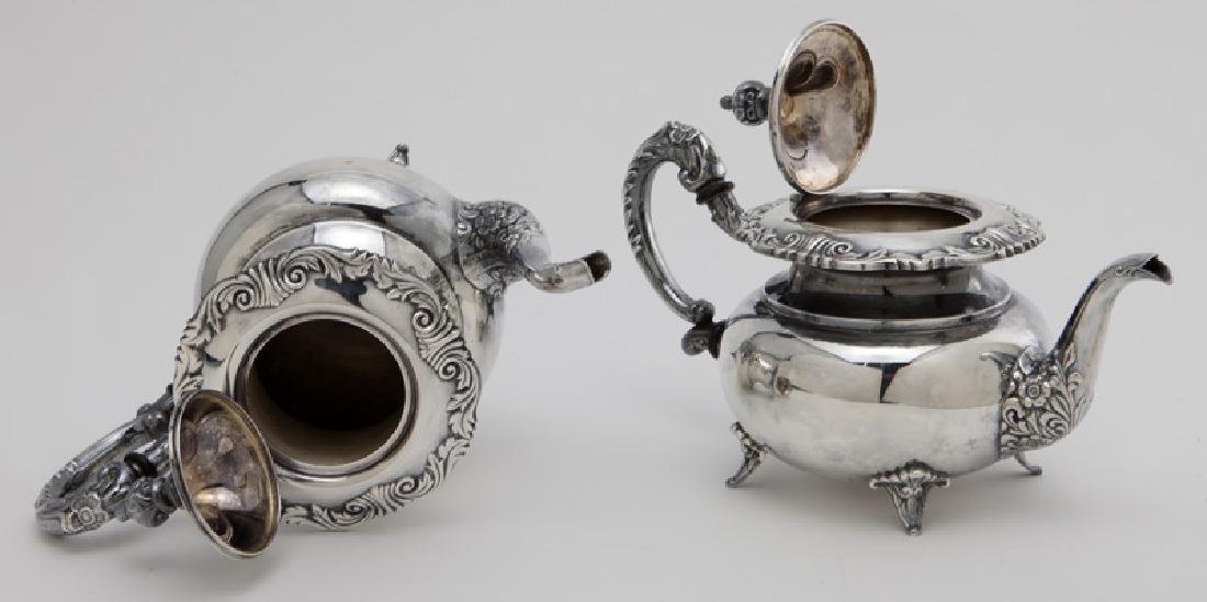(4) Pc. Sterling coffee & tea service - 5