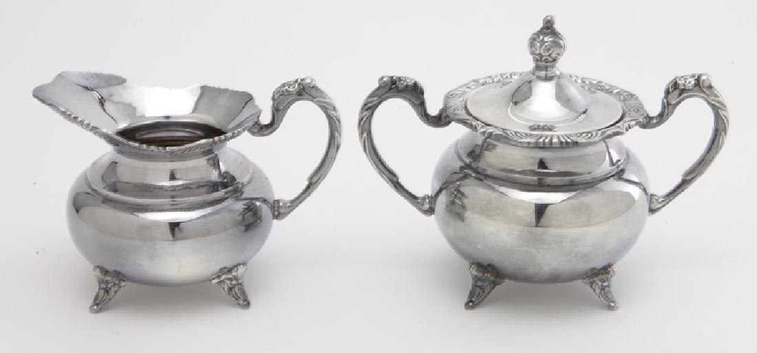 (4) Pc. Sterling coffee & tea service - 7