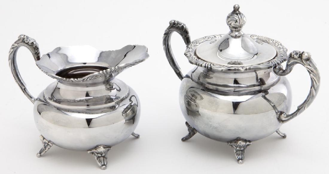 (4) Pc. Sterling coffee & tea service - 8