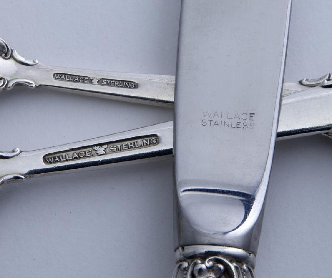 (54) Pcs. Wallace Grand Baroque sterling flatware, - 3