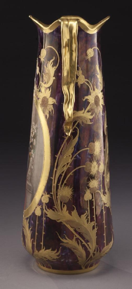 Monumental Royal Vienna porcelain vase - 2