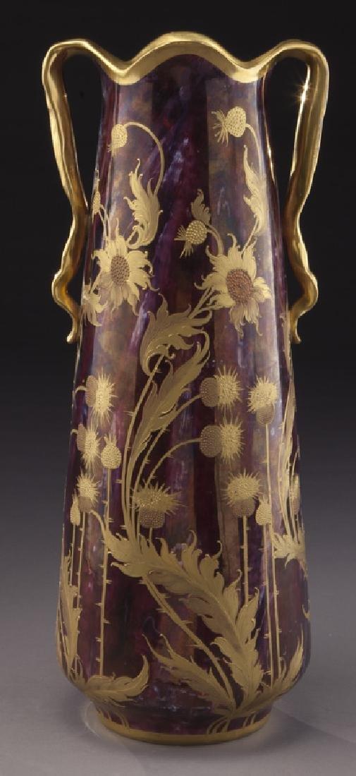 Monumental Royal Vienna porcelain vase - 3