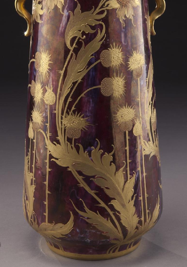 Monumental Royal Vienna porcelain vase - 7