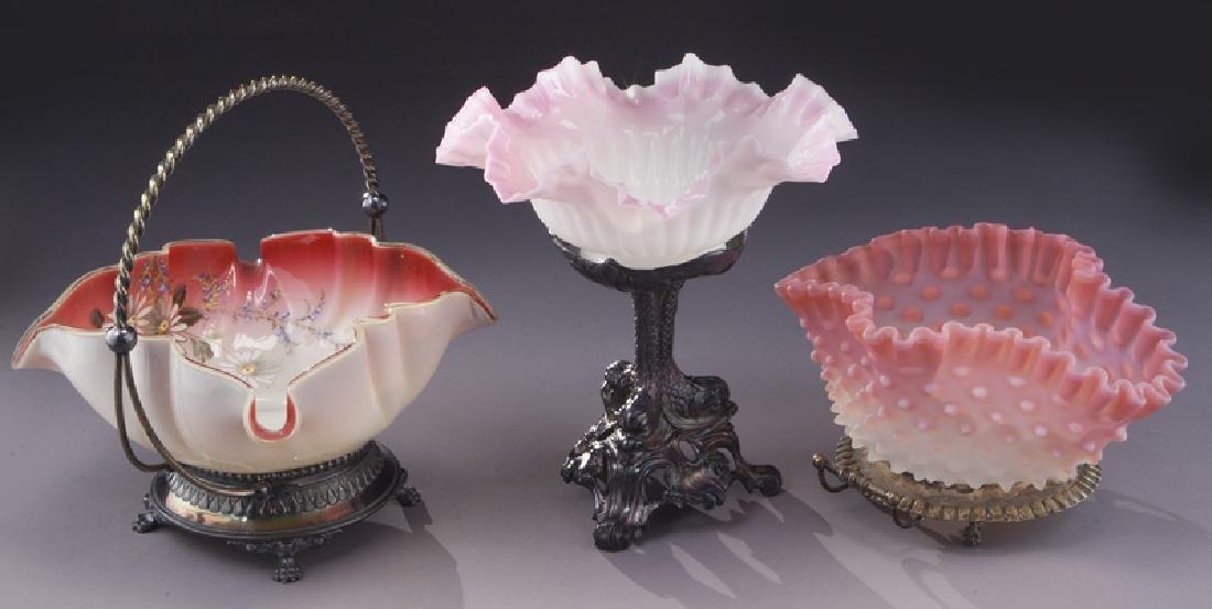 (6) Victorian bride's baskets, - 7