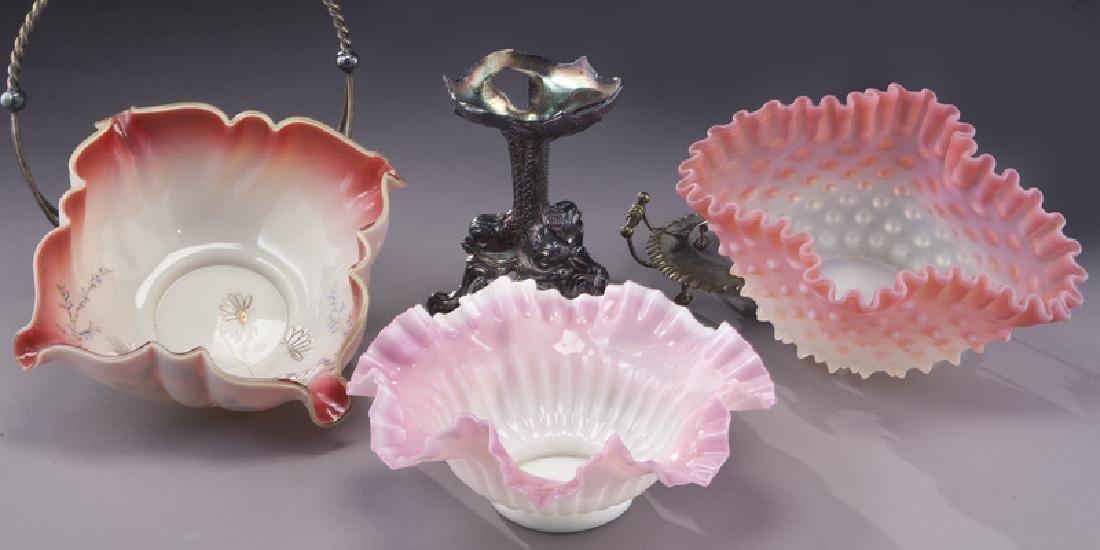 (6) Victorian bride's baskets, - 9