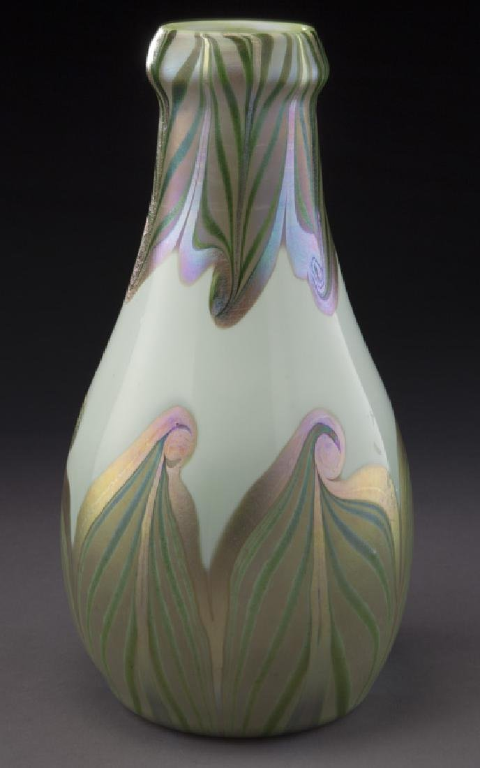 Early period art glass vase,