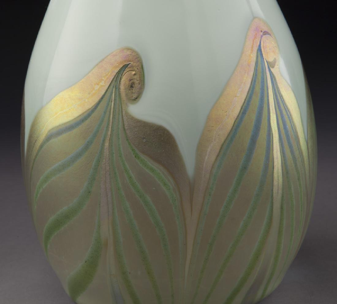 Early period art glass vase, - 6