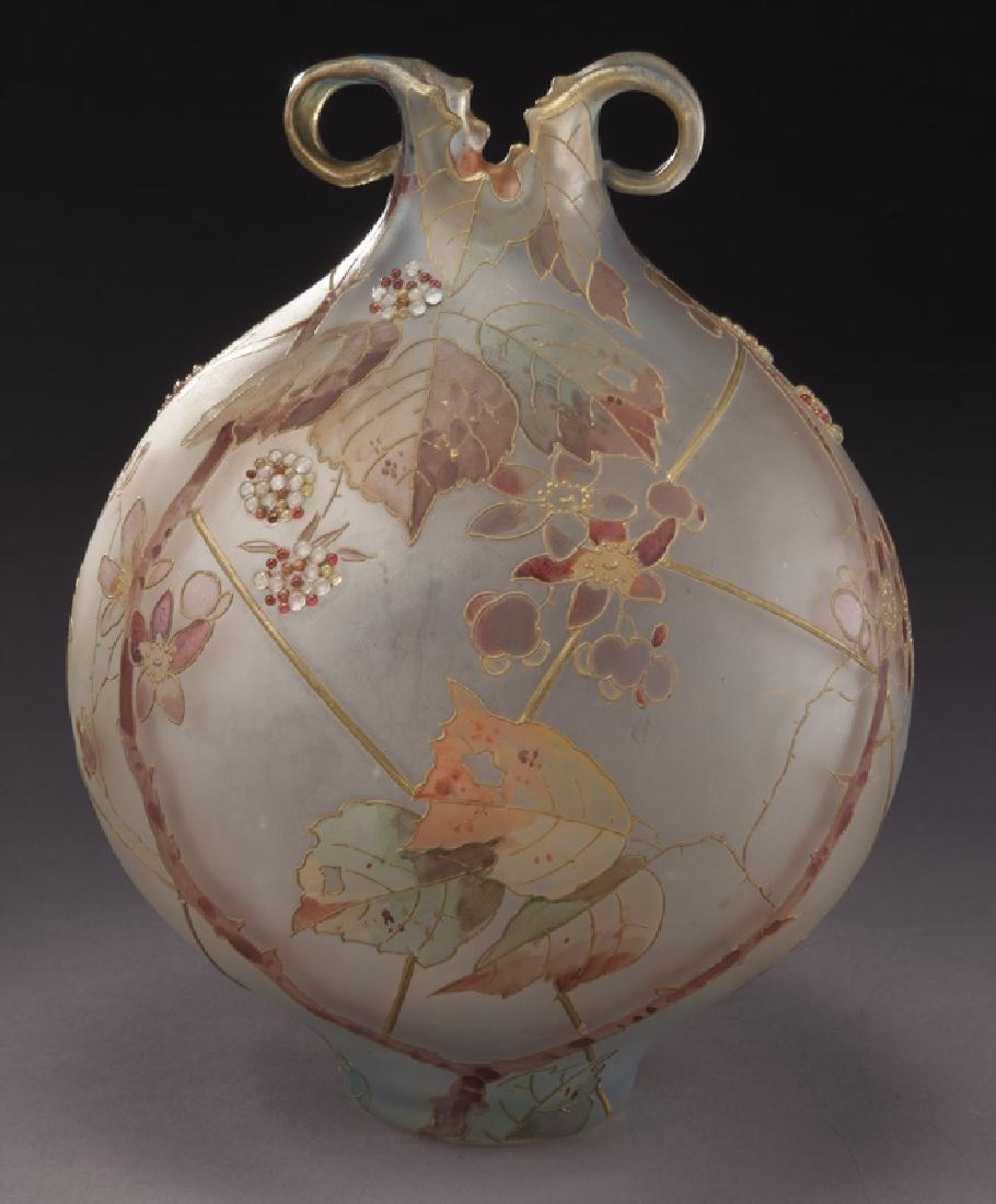 Mt. Washington Royal Flemish vase,
