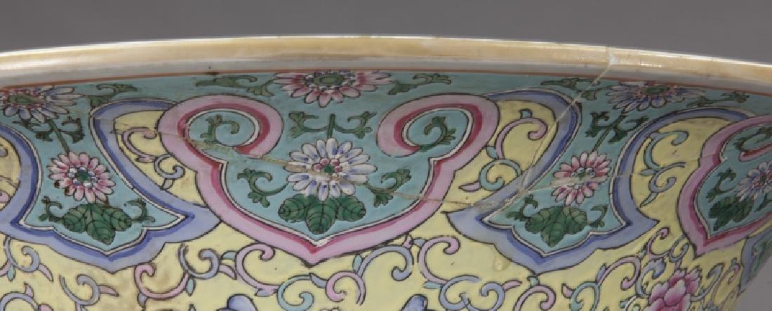 (2) Monumental Chinese urns, - 8