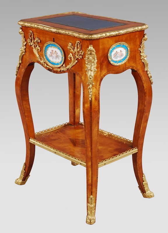 6: Louis XV style ormolu mounted side table