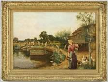 247 Henry John Yeend King oil painting on canvas