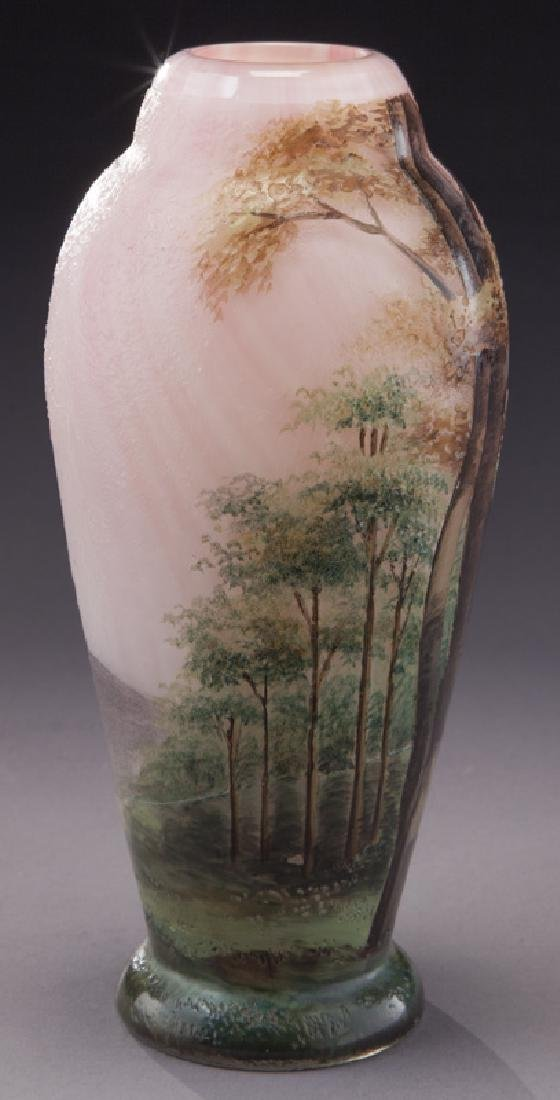 Lamartine French cameo glass vase, - 4