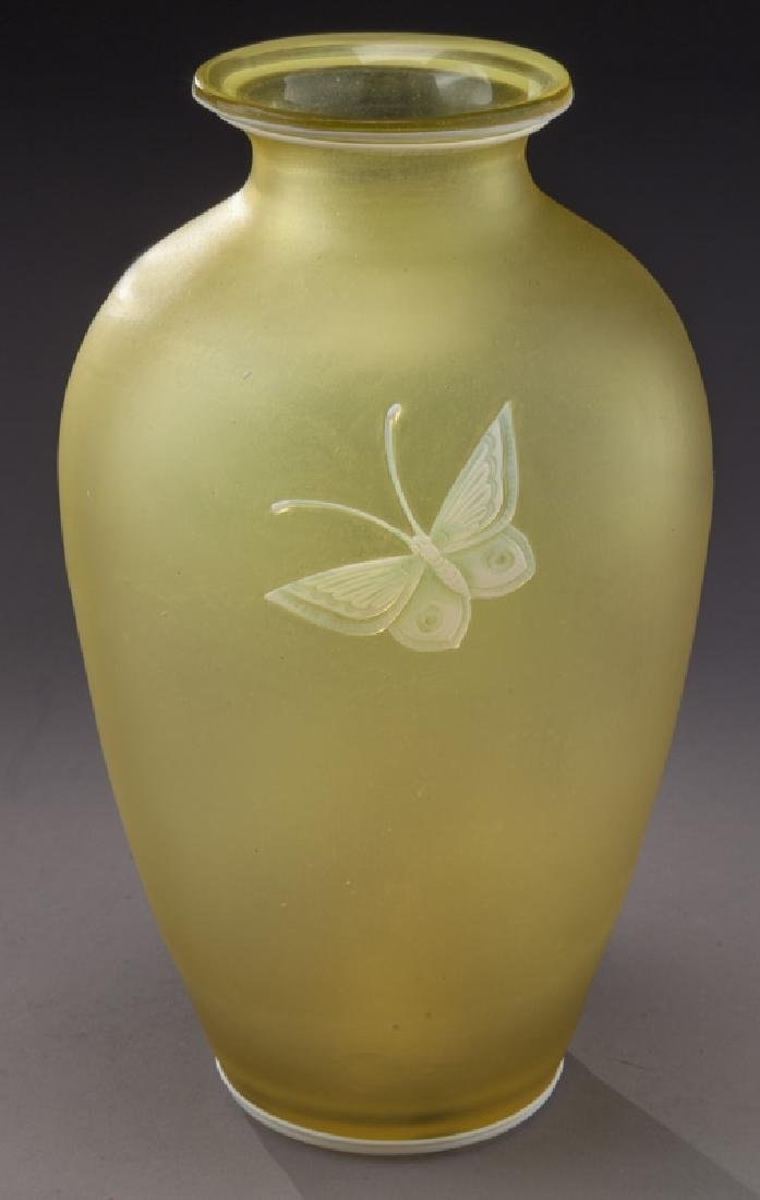 Webb cameo glass vase - 3