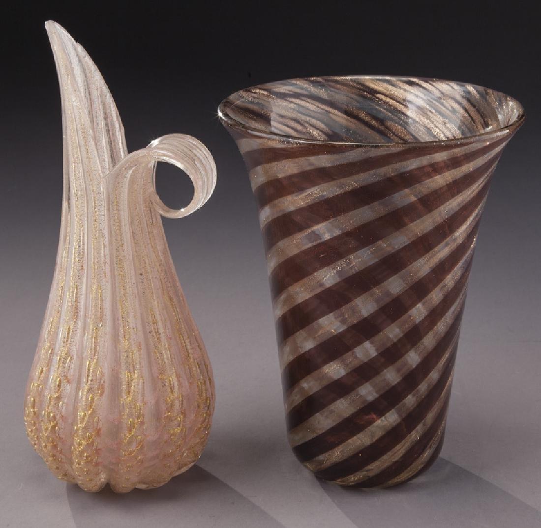 (4) Murano art glass items, - 7
