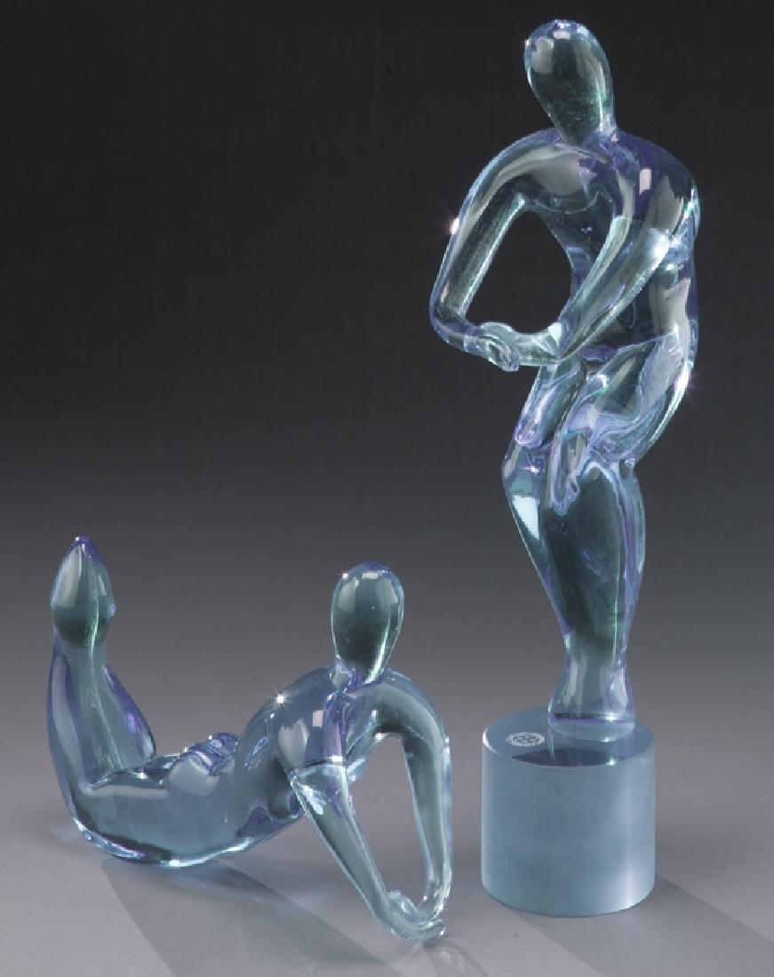 Andrea Tagliapietra dual nude sculpture