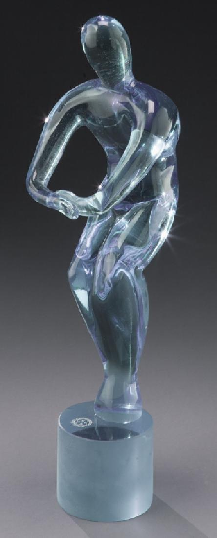 Andrea Tagliapietra dual nude sculpture - 5