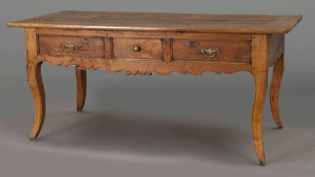 18th Century French provincial writing table - 4