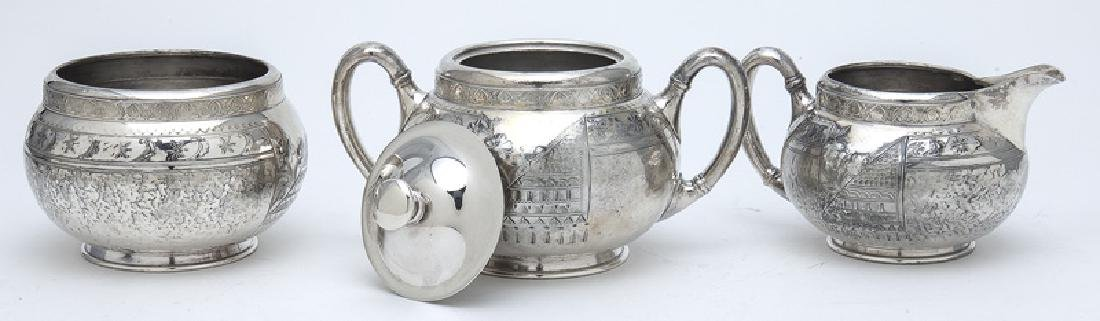 (7) Pc. Silverplate coffee and tea service, - 9
