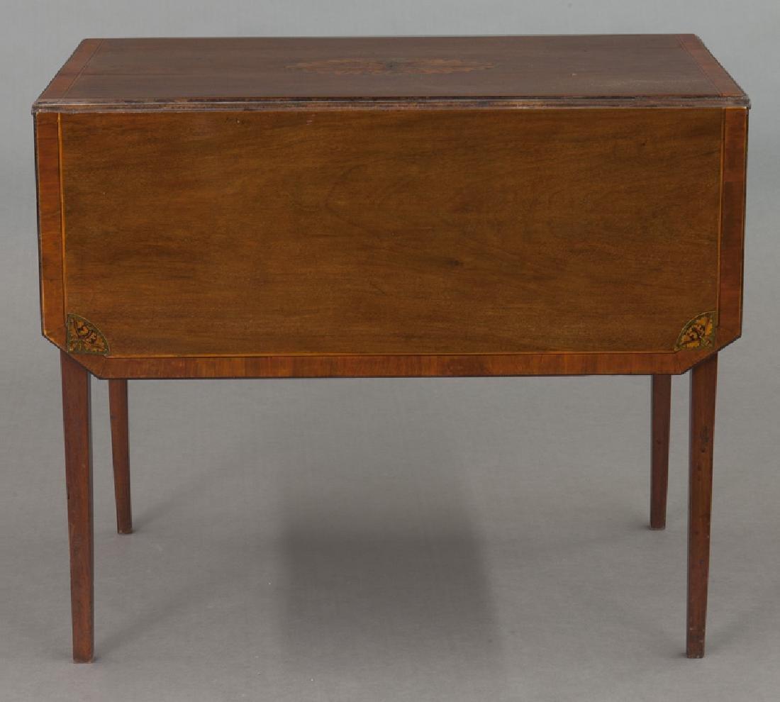English inlaid mahogany Pembroke - 4