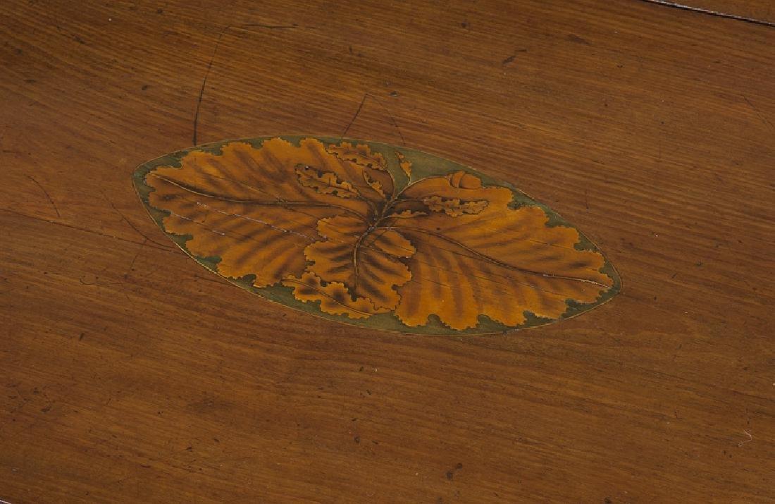 English inlaid mahogany Pembroke - 8