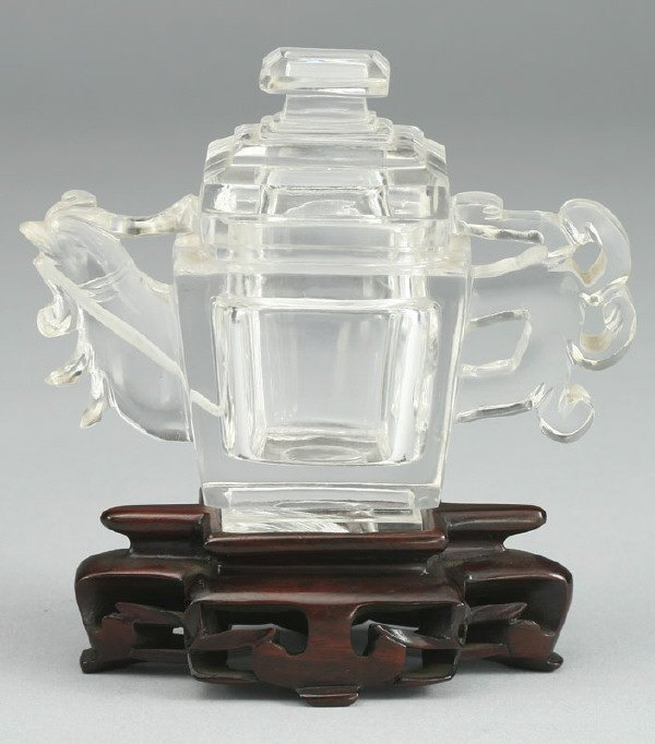 11: A miniature Chinese Qing Dynasty rock crystal