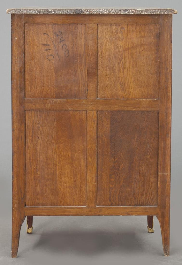 Pr. 19th C. French marquetry inlaid cabinets - 5