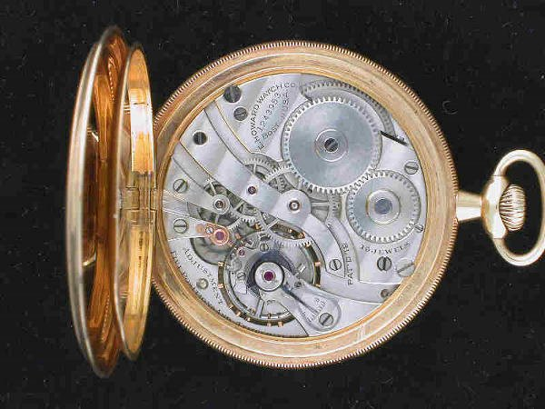 15: 14 K gold E Howard Watch Co. pocket watch