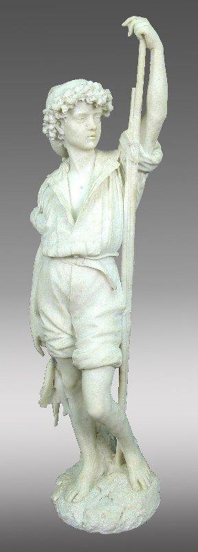 196: Magnificient Italian marble sculpture