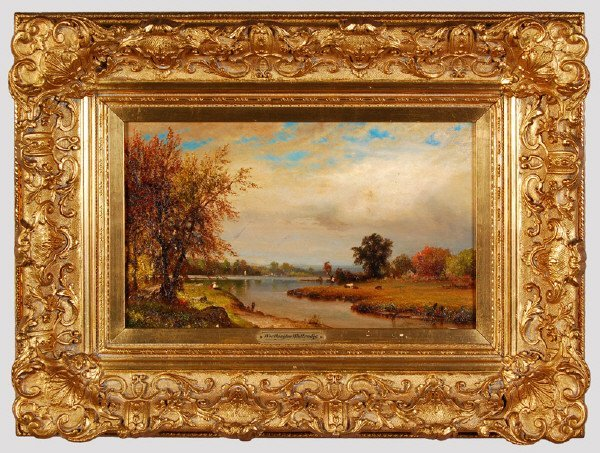 43: Thomas Worthington Whittredge oil painting on
