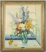 225 Michel Henry oil painting on canvas titled